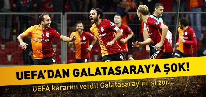 Galatasaray'a Mali Fair Play şoku!