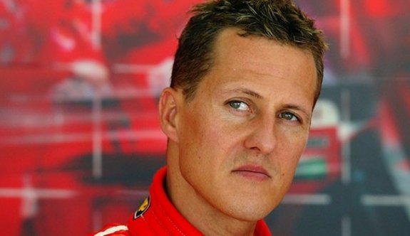 Schumacher eriyor!