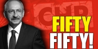 İSTANBUL CHP'de FIFTY FIFTY