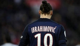 Ibrahimovic Paris Saint Germain'e veda etti
