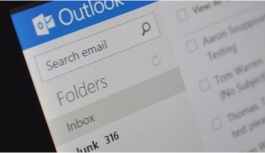 Outlook ve Hotmail'e spam şoku!