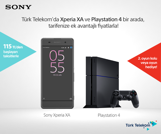 sony xperia xa play station 4