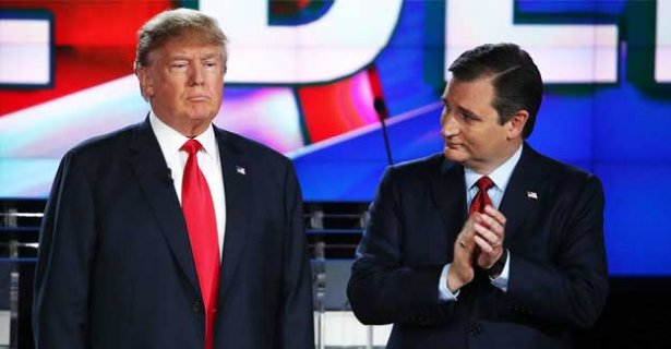 Trump ve Cruz'un  'First Lady' savaşı
