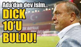 Dick Advocaat'ın 10 numarası belli oldu!
