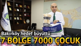 7 bölge 7000 çocuk