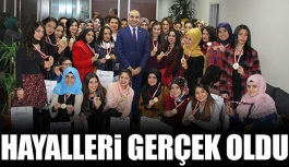 Hayalleri gerçek oldu